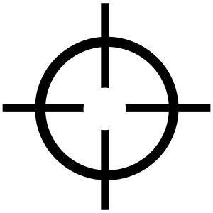 Fadenkreuz - Pistole