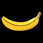 banaan smile cartoon stijl
