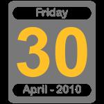 30 April 2010