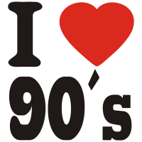 i love the 90 s