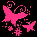 zwinny Motyl, Kwiat
