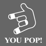 YOU POP! (weiß)