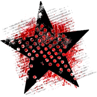 Stern (Punkt, rot)