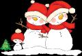 Motif Bonhommes de neige