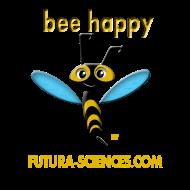 Motif ~ bee_happy_bon_dpi_jaune
