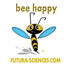 bee happy bon dpi jaune