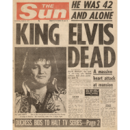 Design ~ King Elvis Dead FP C