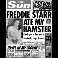 Design ~ Freddie Starr Ate My Hamster FP BW