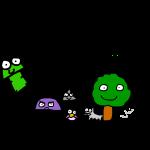Colibri Comics Logo - Gecko huii