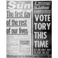 Design ~ Vote Tory This Time FP BW