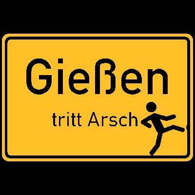 Gießen tritt Arsch - Und wer die Stadt nicht mag, ist eingeladen Sie für immer über eine der Ausfahrtsstraßen zu verlassen! - uni-giessen,mittelhessen,lahn,arsch,Uni,Tritt,Hessen,Gießen
