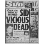Sid Vicious Dead FP BW
