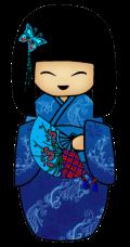 Motif Petite japonaise