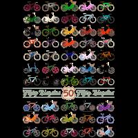50 Fahrräder