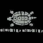 Scherenschnitt Schildkröte 1