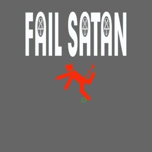 Fail Satan - By recycling (White text)