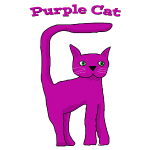 Purple Cat 1