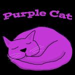 purplecatsleepTshirt.png