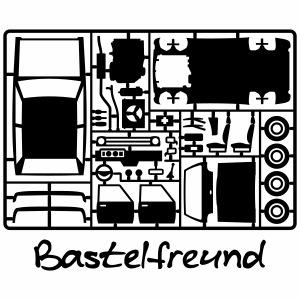Craft model kit 1c friend