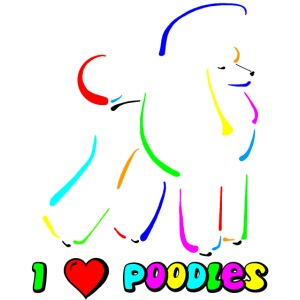 poodle on canvas finish tootiefruity gif