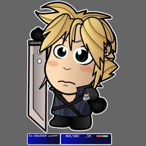 Chibi Cloud - FF7
