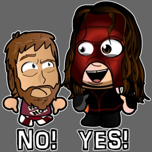 Chibi Bryan and Kane - Yes No