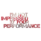 i 39 m not impressed by your performance t shirt mma norway