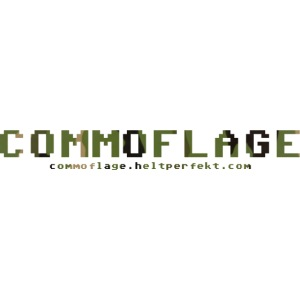 Commoflage t shirt logo camo png