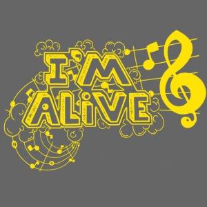 i m alive geel png