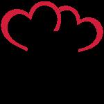 2CV Retro Hearts-2