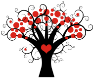 Valentinstag Shirt: TREE of LIFE