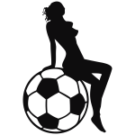 Girl on Fußball 1C