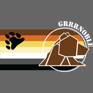 Logo 3 GRRRNOBLE BEAR ASSOCIATION