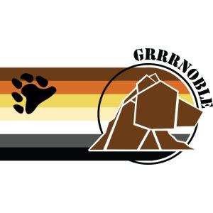 Logo 2 GRRRNOBLE BEAR ASSOCIATION