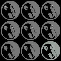 Denkeraffe Pattern