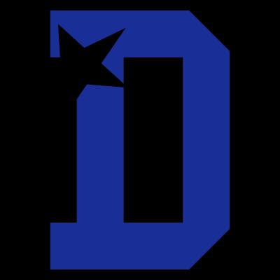 d_letter - Cheerleader Buchstabe D - stern,d letter,cheerwear,cheerleading,cheerleader,cheer,D,Buchstabe D