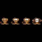 Le 4 scimmie bianco.png
