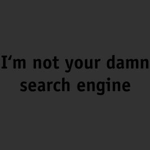No search engine