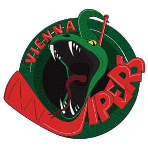 vipers logo big color rippled png