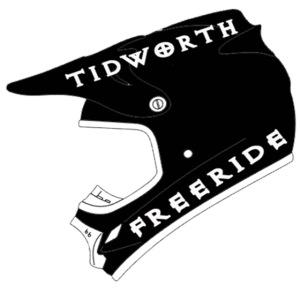 helemet black tidworth freeride white co
