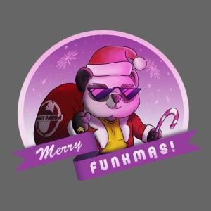 """Funky Pandas """"Merry Funkmas"""" tee"""
