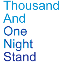 thousand and one night stand (2colors)