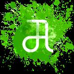 Glyphe Grün