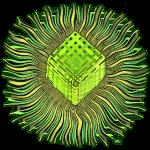 Psychedelic Cube / Psychedelischer Würfel