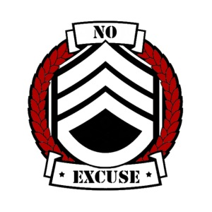 no excuse logo png