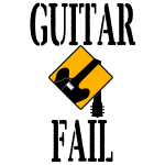 Guitar Fail Logo Square