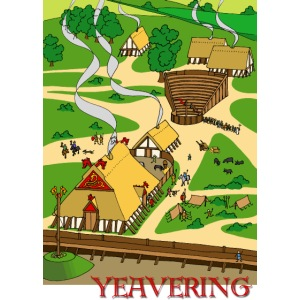 Yeavering Anglo-Saxon Palace