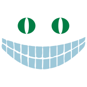 Alice in Wonderland: Cheshire cat (2c)