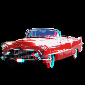 3D Cadillac
