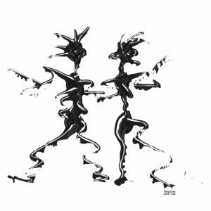 Tanzpaar 2 Tasse